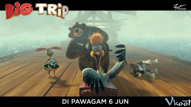 Xem Phim Gấu Trúc Về Nhà - The Big Trip - Ahaphim.com - Ảnh 3