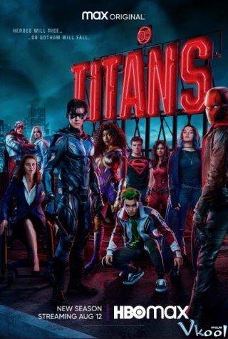 Biệt Đội Titans Phần 3 (Titans Season 3)