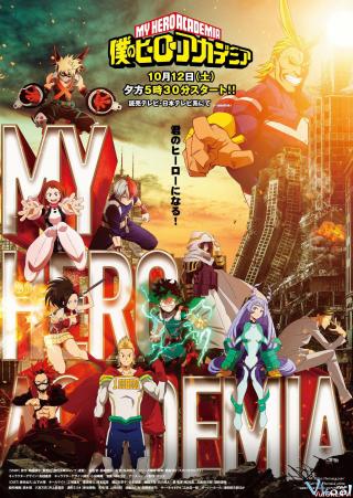Học Viện Anh Hùng 4 (My Hero Academia 4)