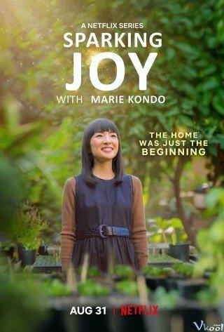Marie Kondo: Thắp Lên Niềm Vui (Sparking Joy)